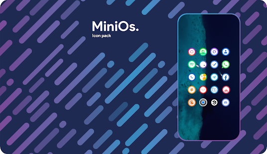 Mini0s. Icon Pack Screenshot