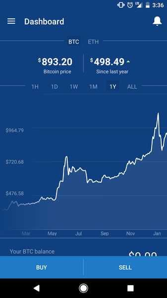 تطبيق Coinbase – Buy Bitcoin أندرويد